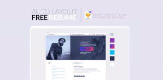 Free-Sketch-Resume-CV-Template-for-UI-&-UX-Designer