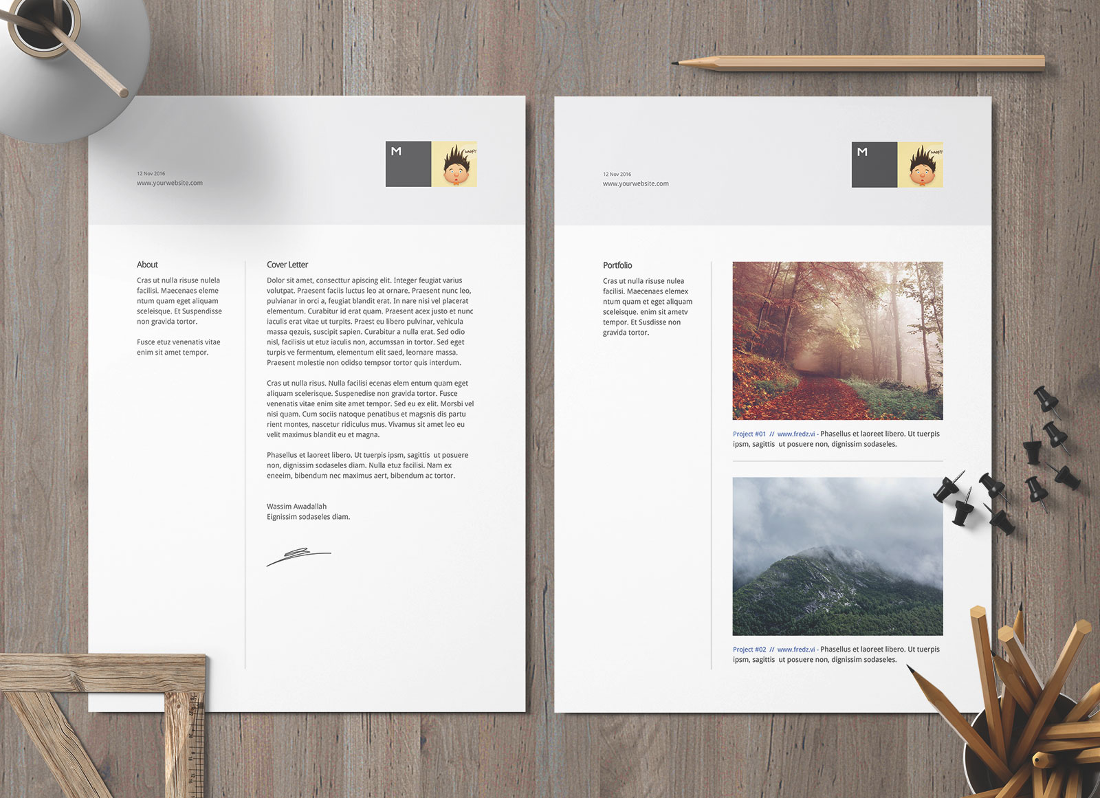 Free Ai DOC & DOCX Professional Resume Template for Architects & Designers (2)