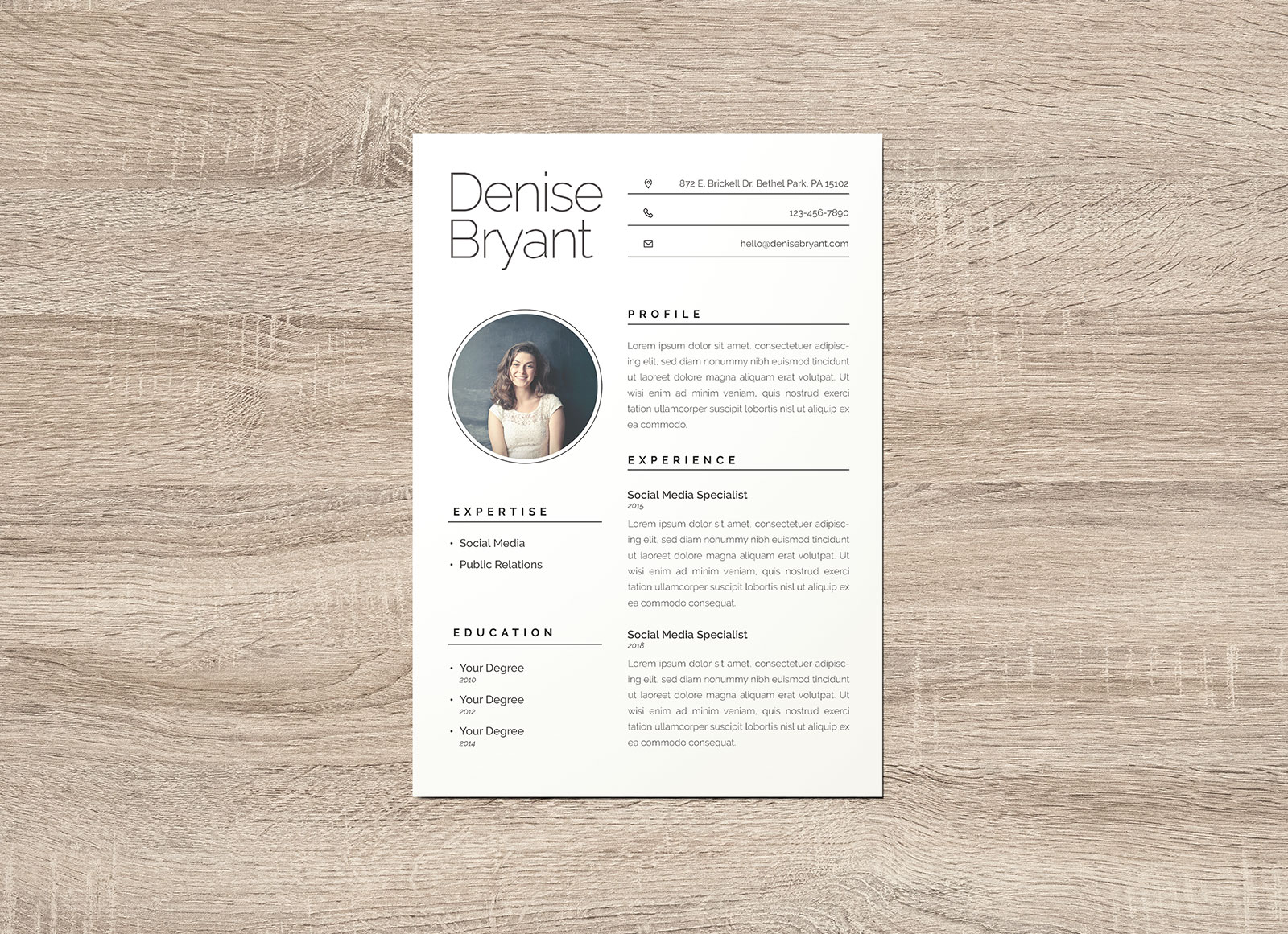 Free-Ai-Resume-CV-Template-for-Social-Media-Special-&-Public-Relation-Officer-1