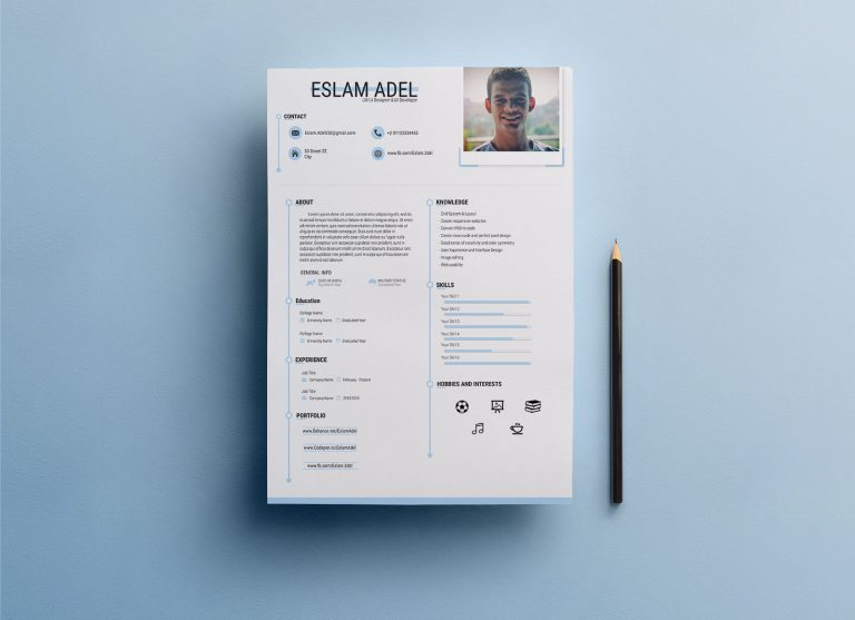 Free Ai Resume Templates For UI Developers