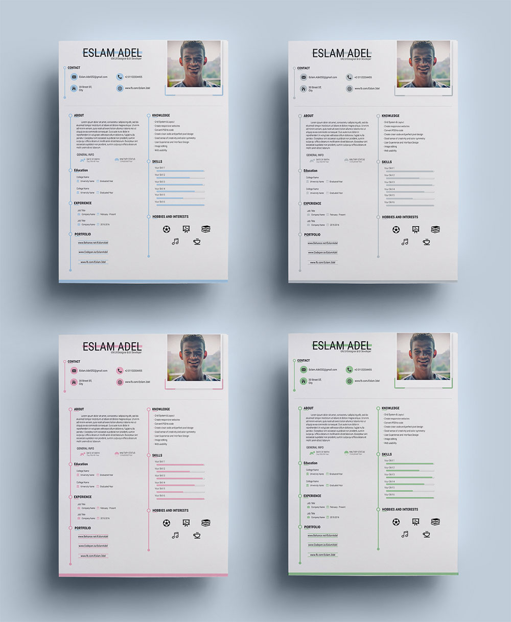 Free-Ai-Resume-Templates-for-UI-Developer