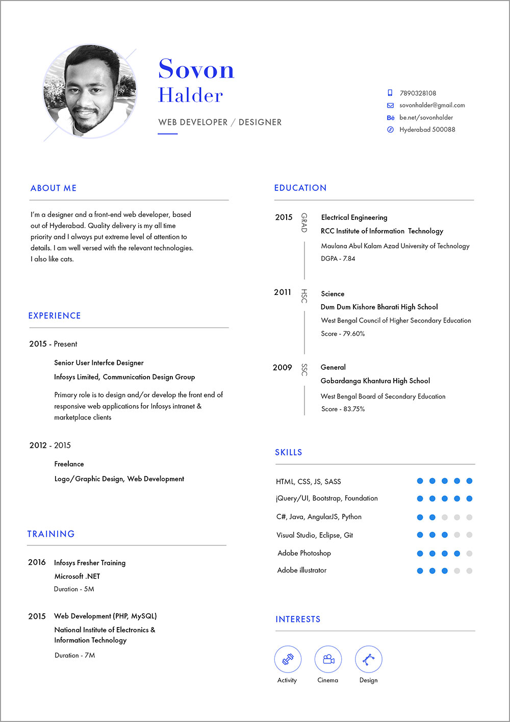 Free-CV-Resume-Template-in-PSD-&-Ai-For-Web-Developer