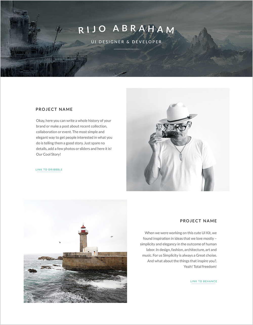 Free Designer Resume Template in PSD & Word Format (4)