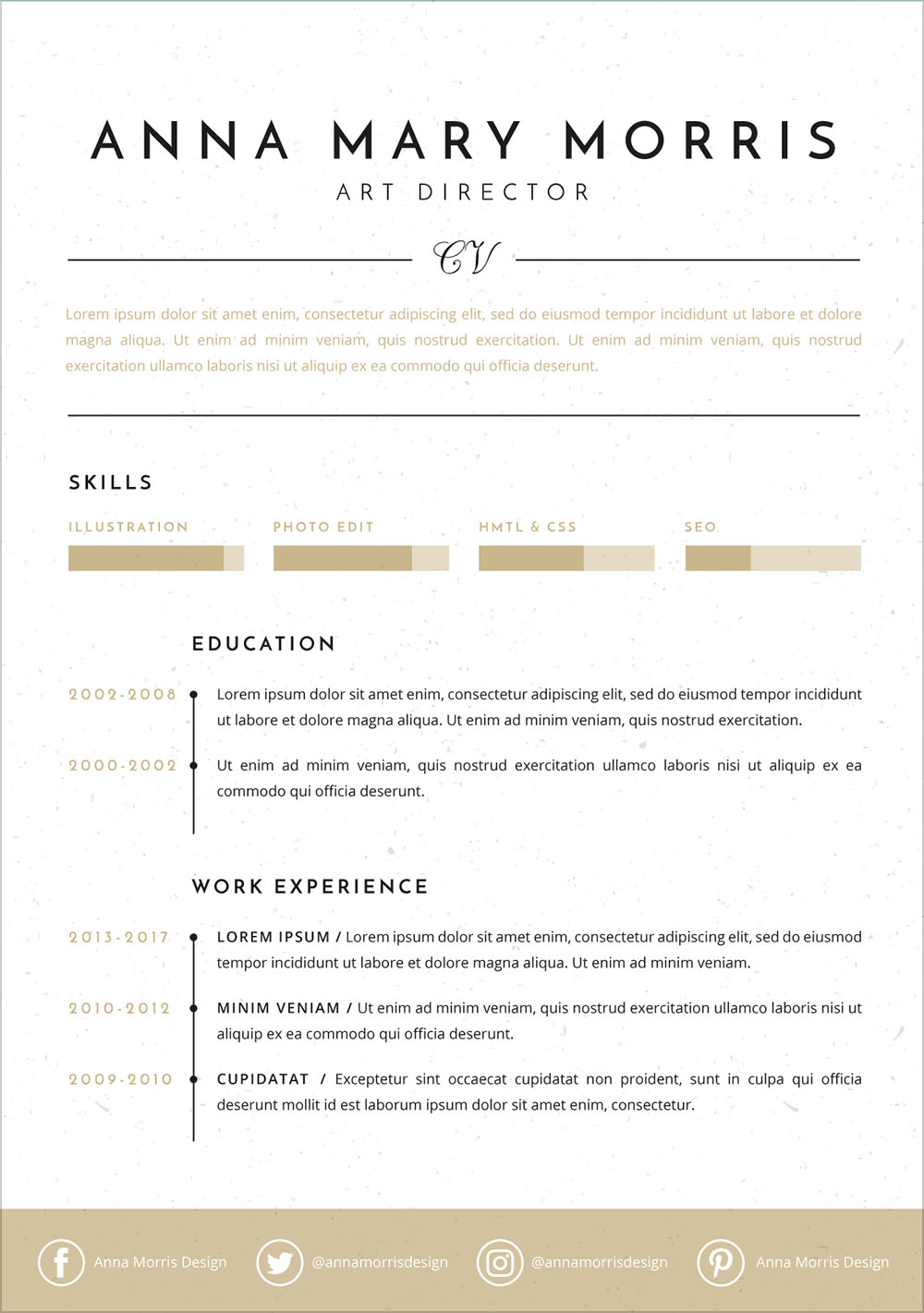 Free-Minimalistic-Ai-Resume-Template-for-Art-Directors-2