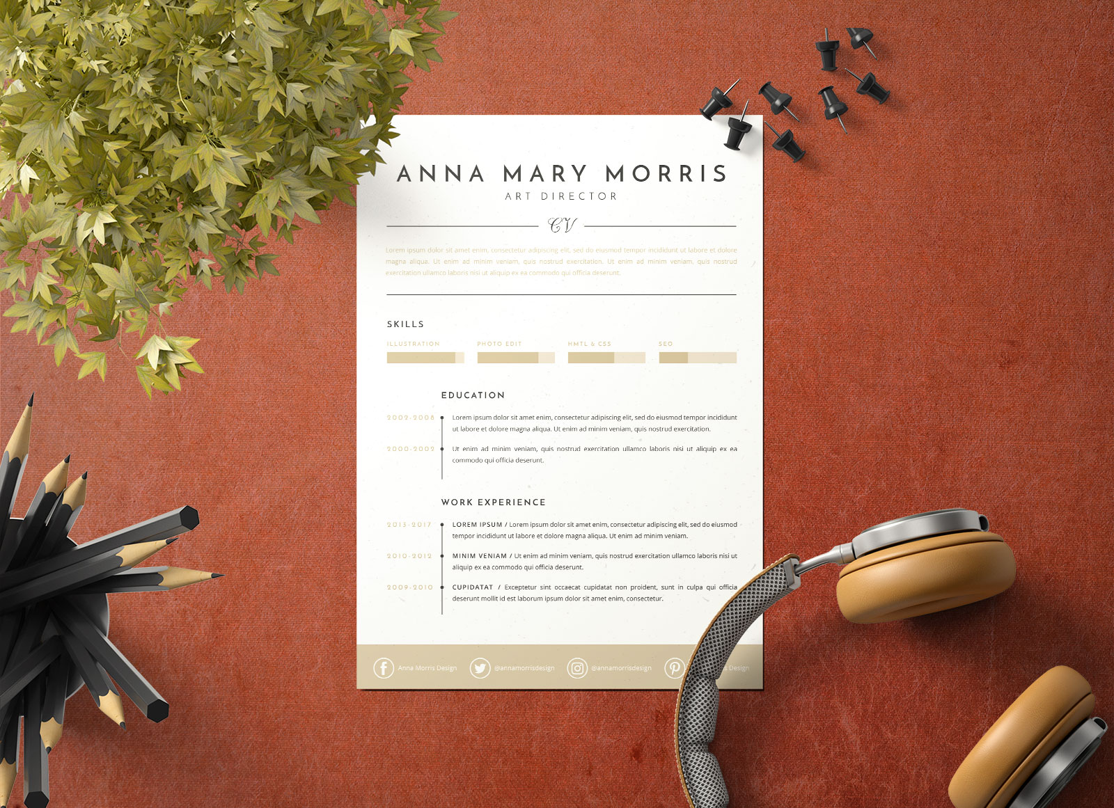 Free-Minimalistic-Ai-Resume-Template-for-Art-Directors-3
