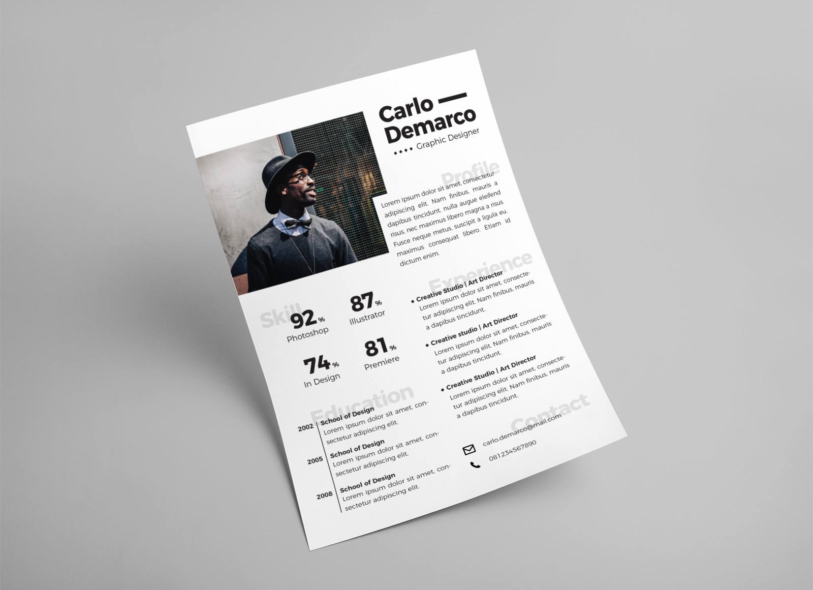 Free-Modern-Resume-Template-in-Ai-Format-for-Interior-&-Graphic-Designers-3