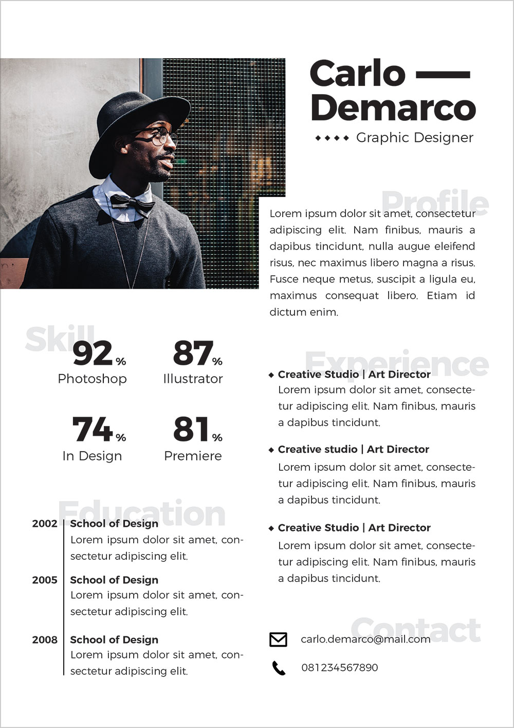 Free-Modern-Resume-Template-in-Ai-Format-for-Interior-&-Graphic-Designers