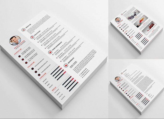 Free-PSD-CV-Template,-Cover-Letter-&-Portfolio-Design-For-Graphic-Designer
