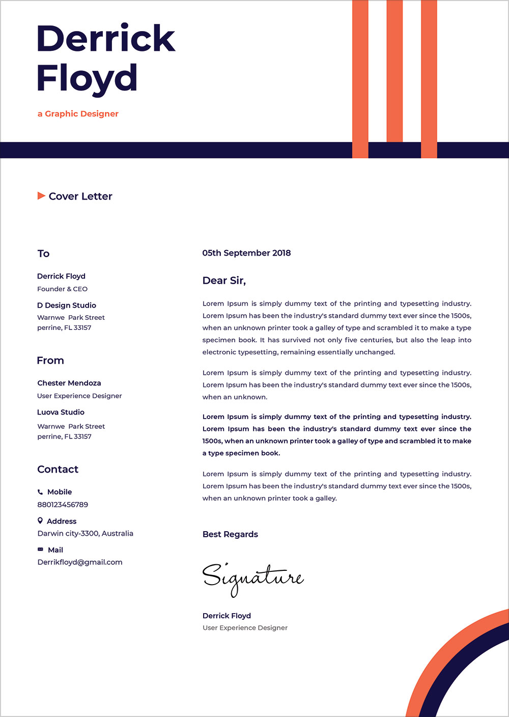 free professional cv   resume template  u0026 cover letter in