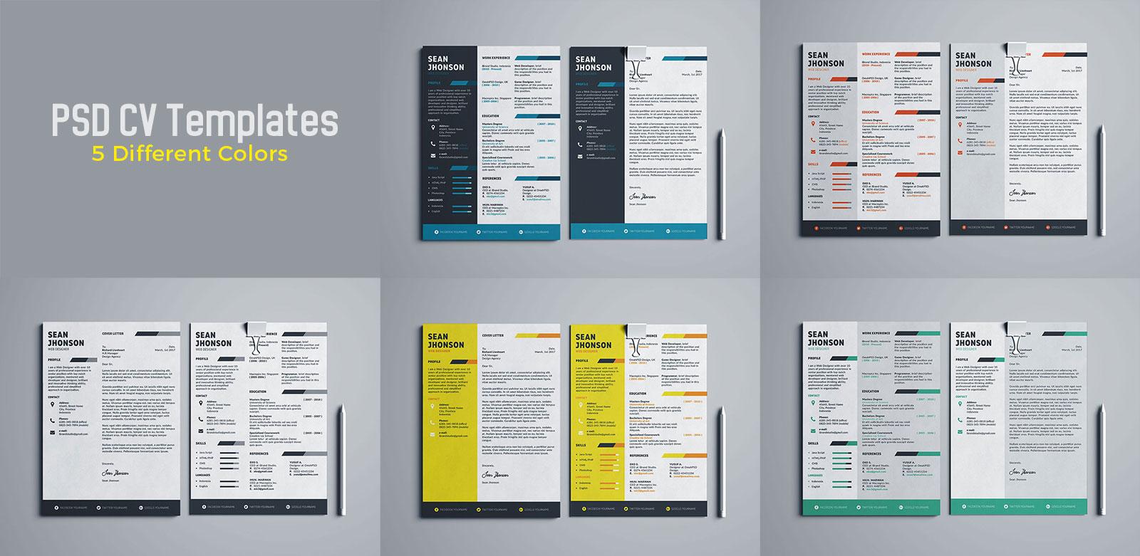 Free-Professional-PSD-Resume-Template-For-Game-Designer-&-Programmer-5