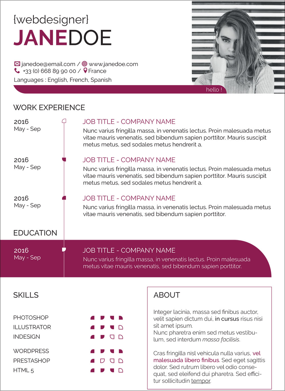 Free-Resume-Ai-Design-Template-for-Web-Seekers-3