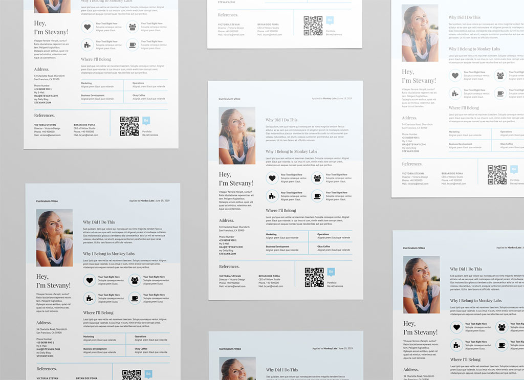 Free-Resume-Template-in-INDD-&-Word-For-Professionals-2