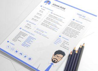 Free-Resume-Template-in-Sketch-for-Gamer-&-Designer