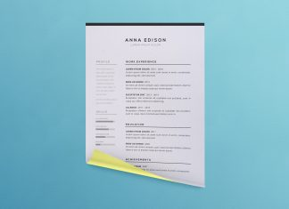 Free-Simple-Black-&-White-Curriculum-Vitae-Template-2
