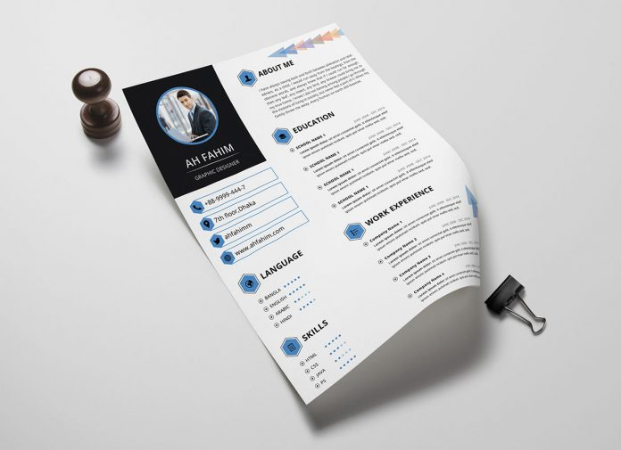 Free-Simple-Resume-Template-in-PSD-Format-2